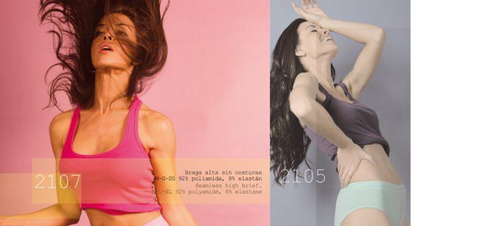Sesion de fotografía en Málaga para revista de ropa interior