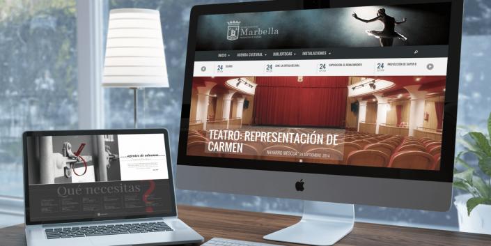 DISEÑO PÁGINA WEB MARBELLA AYUNTAMIENTO