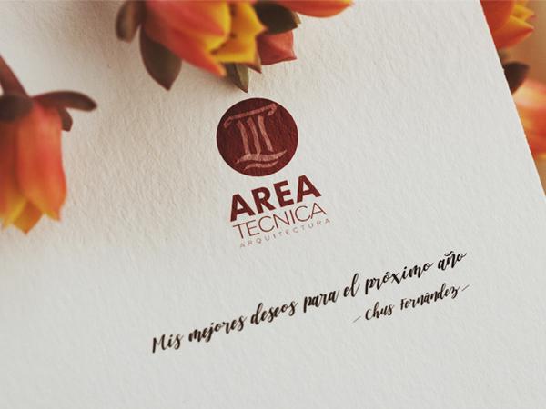 logotipo impreso sobre folio de invitación