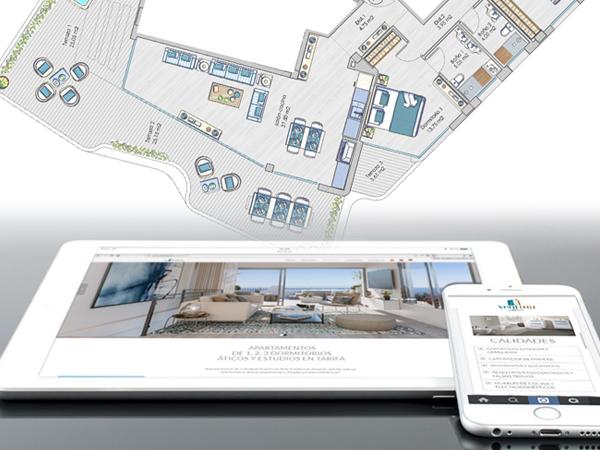 diseño de página web en wordpress y adaptación responsive para distintos dispositivos